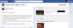 Screen capture of Kentucky Bar Association President-Elect Thomas L. Rouse's public Facebook profile on November 26, 2012.