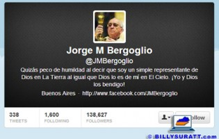 Jorge Mario Bergoglio becomes Pope Francis — on Twitter?!
